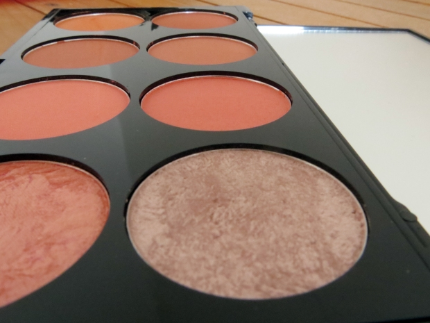 Makeup Revolution Ultra Blush Pallette in Sugar and Spice